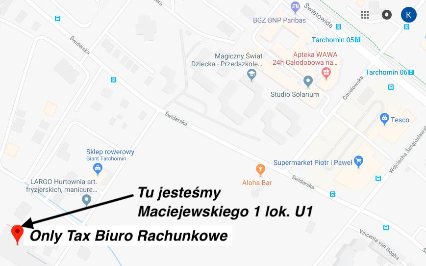 Only Tax Biuro Rachunkowe tarchomin
